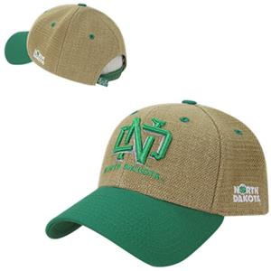 University of North Dakota Structured Jute Cap