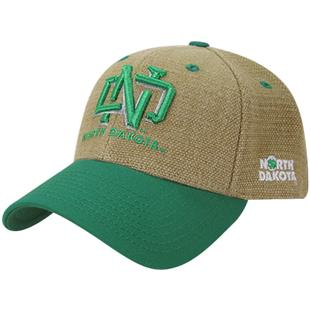 University of North Dakota Structured Jute Cap