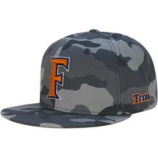 W Republic Cal State Fullerton Camo Snapback Cap