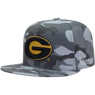 Grambling State University Camo Snapback Cap