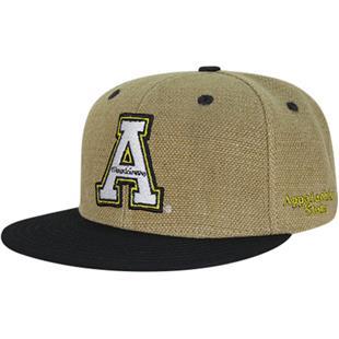 Appalachian State Univ Heavy Jute Snapback Cap