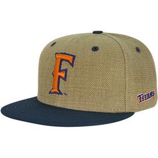 Cal State Fullerton Heavy Jute Snapback Cap