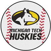 Fan Mats Michigan Tech Baseball Mat