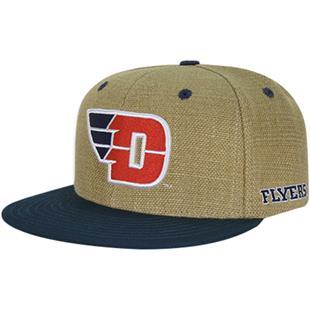 University of Dayton Heavy Jute Snapback Cap