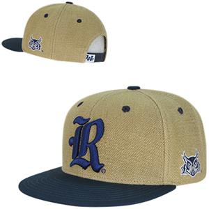 Rice University Heavy Jute Snapback Cap