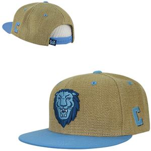 Columbia University Heavy Jute Snapback Cap