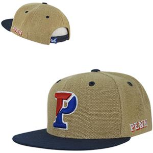 University of Pennsylvania Heavy Jute Snapback Cap