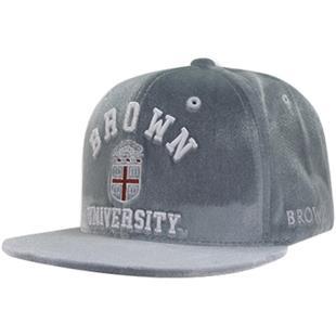 WRepublic Brown University Velvet Snapback Cap