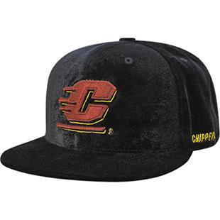 Central Michigan University Velvet Snapback Cap