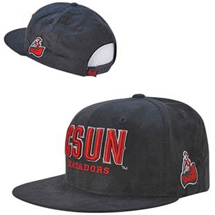Cal State Northridge Faux Suede Snapback Cap
