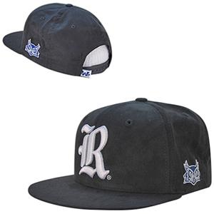 Rice University Faux Suede Snapback Cap