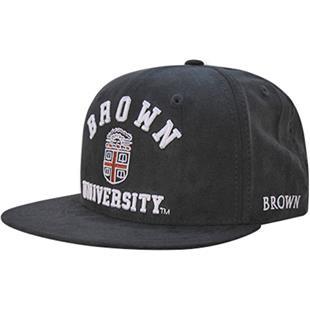 Brown University Faux Suede Snapback Cap
