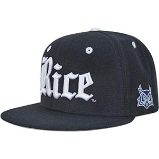Rice University Accent Snapback Cap