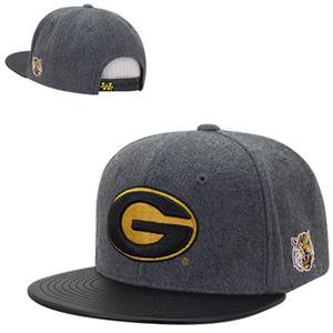 Grambling State Univ Melton Vinyl Snapback Cap