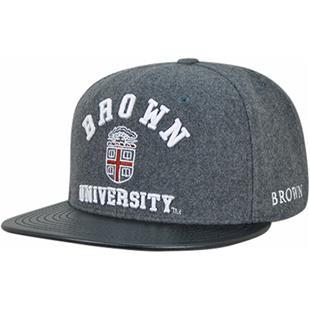 Brown University Melton Vinyl Snapback Cap