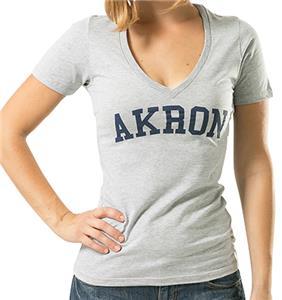 WRepublic University Akron Game Day Women's Tee