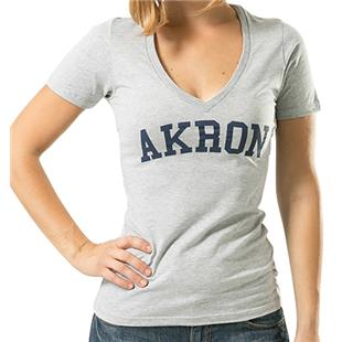 WRepublic University Akron Game Day Women's Tee