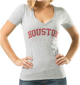 WRepublic University Houston Game Day Women's Tee