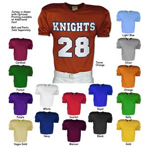 Playmaker Traditional Style Tricot Football Jersey