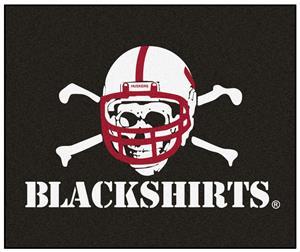 Fan Mats NCAA Nebraska Blackshirts Tailgater Mat