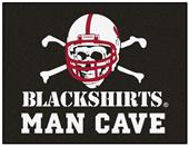 Fan Mats Nebraska Blackshirt Man Cave All-Star Mat