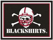Fan Mats NCAA Nebraska Blackshirts 8'x10' Rug