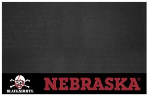 Fan Mats NCAA Nebraska Blackshirts Grill Mat