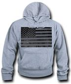 WRepublic USA Flag Fleece Hoodie