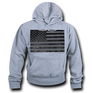 WRepublic USA Flag Fleece Hoodie