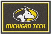 Fan Mats NCAA Michigan Tech University 5'x8' Rug