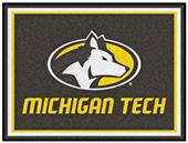 Fan Mats NCAA Michigan Tech University 8'x10' Rug