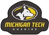 Fan Mats NCAA Michigan Tech University Mascot Mat