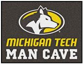 Fan Mats NCAA Michigan Tech Man Cave All-Star Mat