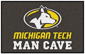 Fan Mats NCAA Michigan Tech Man Cave Ulti-Mat