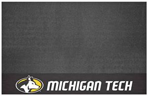 Fan Mats NCAA Michigan Tech University Grill Mat