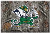 Fan Mats NCAA Notre Dame Scraper Camo Mat
