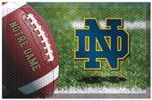 Fan Mats NCAA Notre Dame Scraper Ball Mat