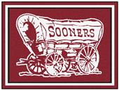 Fan Mats NCAA University of Oklahoma 8'x10' Rug