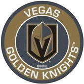 Fan Mats NHL Vegas Golden Knights Roundel Mat