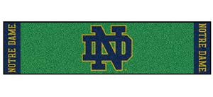 Fan Mats NCAA Notre Dame Putting Green Mat
