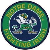 Fan Mats NCAA Notre Dame Roundel Mat