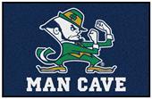 Fan Mats NCAA Notre Dame Man Cave Starter Mat