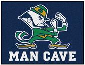 Fan Mats NCAA Notre Dame Man Cave All-Star Mat