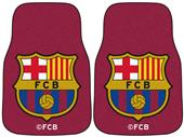 Fan Mats MLS FC Barcelona Carpet Car Mats (set)