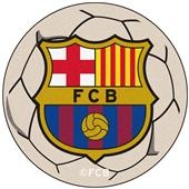 Fan Mats MLS FC Barcelona Soccer Ball Mat