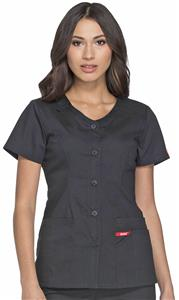 Dickies Women's EDS Signature V-Neck Scrub Top