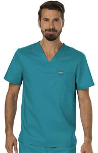 Cherokee Men's Revolution V-Neck Scrub Top