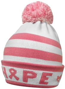 Pearsox Hope Pink Ribbon Beanie Hat