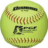 "Diamond PGF Premier 11"" & 12"" Fastpitch Softballs"