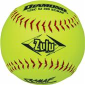 Diamond Zulu Red Stitch SCMAF Softballs